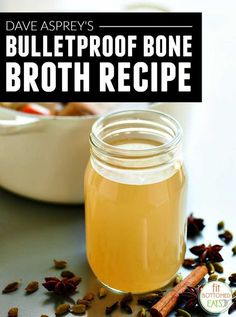 """Been wanting to get in on the bone broth craze? Try it with Dave Asprey's deliciously """"Bulletproof"""" bone broth recipe."""