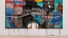 Hand-Knit Paintings Weave DNA into Algorithms
