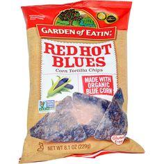 Garden of Eatin', Corn Tortilla Chips, Red Hot Blues, 8.1 oz (229 g) - iHerb.com
