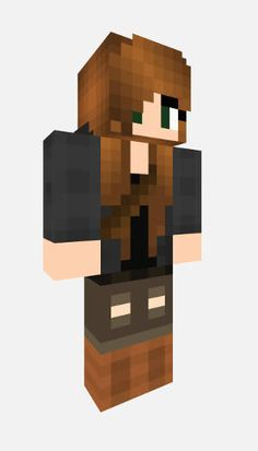Minecraft/Minecraft PE Katniss Everdeen Skin