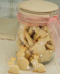 Bunny biscuits for bellas first birthday decor idea and inspiration for her birthday invites