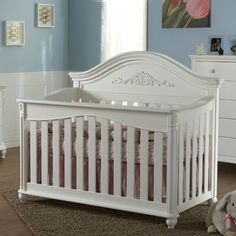 Gardena Forever Crib White from PoshTots