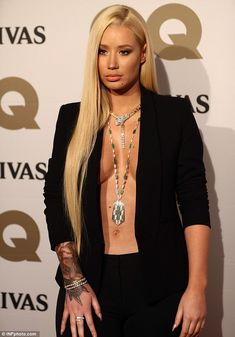 'I have an award winning vagina,' Iggy Azalea gushed about her private parts after being crowned GQ's Woman of the Year at the GQ Men of the Year Awards in Sydney