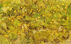 Page: A Field of Yellow Flowers Artist: Vincent van Gogh Completion Date: 1889 Place of Creation: France Style: Post-Impressionism Genre: landscape Technique: oil Material: canvas Dimensions: 53 x cm Winterthur, Vincent Van Gogh, Pierre Auguste Renoir, Van Gogh Arte, Kunst Poster, Van Gogh Paintings, Art Van, Oil Painting Flowers, Paisajes