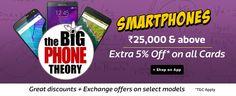 Flipkart 26-27 November Big Phone Theory Sale : 26 -27 November Smartphone Sale - Best Online Offer