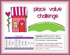 Place Value Challenge