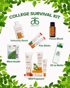 College Survival kit College Survival kit Leslie Varni ldvarni Arbonne This Arbonne college survivalkit is perfect For skincare and hydration to keep you nbsp hellip day digital detox challenge Arbonne Nutrition, Kids Nutrition, Nutrition Tips, Nutrition Quotes, Nutrition Activities, Holistic Nutrition, Nutrition Education, Arbonne Party, Arbonne Consultant