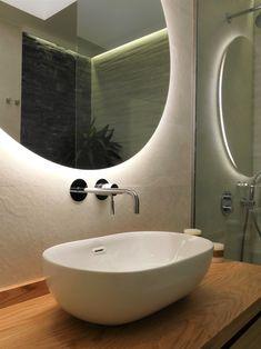 Bathroom renovation and design by Tatiana Doria Bathroom Lighting, Mirror, Furniture, Design, Home Decor, Bathroom Light Fittings, Bathroom Vanity Lighting, Decoration Home, Room Decor