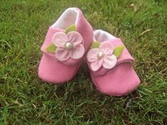 Baby Shoes Wool Felt Sneakers by BronteShoes