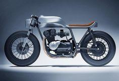 Moto Honda CB 1100 par Dimitri Bez #motorcycles #design | caferacerpasion.com