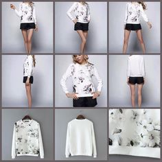 Detail:EQ 183 White Flower Sweater (size S,M,L)Excellent QualityFabric Cotton Gauze, Elastic GoodSize S.M.L in cmBust (86,90,94) Shoulder (38,39,40) Sleeve (54,55,56) Length (55,56,57) sebelum membeli tanyakan ketersediaan stok terlebih dahulu infowa 081237304540 bb pin 551fd9be Happy shopping