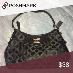 Black coach purse Coach purse, barely used, great condition Coach Bags Mini Bags