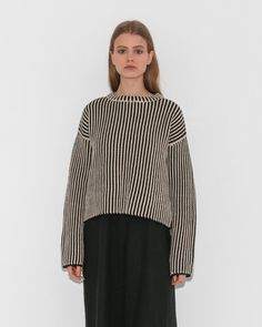 d1be719ed4 Boxy Pullover by Raquel Allegra Vintage Jerseys