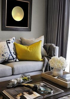 Having small living room can be one of all your problem about decoration home. To solve that, you will create the illusion of a larger space and painting your small living room with bright colors c… Sophisticated Living Rooms, Decor, Room Inspiration, Living Room Designs, Interior, Home Decor, House Interior, Living Room Furniture, Apartment Decor