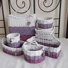 Tříbarevný příborníkový Laundry Basket, Wicker Baskets, Kos, Organization, Home Decor, Getting Organized, Organisation, Decoration Home, Room Decor