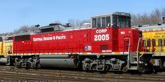 CORP 2005   Description:  at the Alton & Southern yard in E St Louis IL   Photo Date:  3/20/2015  Location:  East St. Louis, IL   Author:  Daniel Schroeder  Categories:  Roster  Locomotives:  CORP 2005(GP20D)
