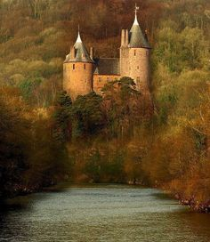 Castell Coch - Tongwynlais, Cardiff, Wales, by Raymond King  such a beautiful place to see.