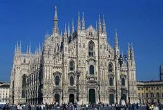 Milan Cathedral - I have seen magnificent structures everywhere, but this is the only one that actually took my breath away