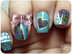 Love everything but that awkward bow on the ring finger...