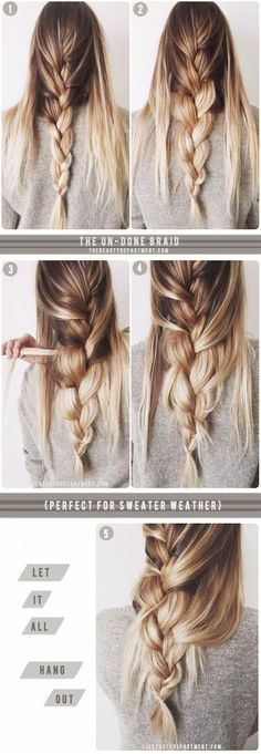 Try something new! Not curling or straightening, braids can be a fun, unique way to dress up for the holidays.