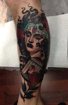 electrictattoos:  Emily Rose Murray