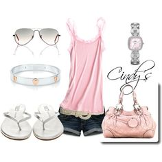 """""""Summer Pink"""" by cindycook10 on Polyvore"""