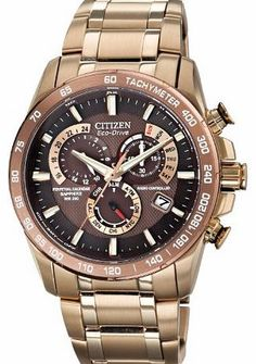 Citizen Watch Perpetual Chrono A.T Mens Quartz Watch with Brown Dial Analogue Display and Rose Gold Stainles Citizen Gents Perpetual Chrono A T Watch AT4106-52X Product Description : - Eco drive dual time watch - Perpetual calandar/Alarm - Chronograph - Brown Dial - Gold tone st (Barcode EAN = 5060287461579) http://www.comparestoreprices.co.uk/bracelet-watches/citizen-watch-perpetual-chrono-a-t-mens-quartz-watch-with-brown-dial-analogue-display-and-rose-gold-stainles.asp