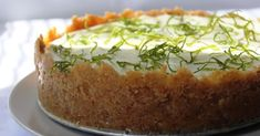 Lime Cheesecake, Azzaro, Cheesecakes, Baking, Ethnic Recipes, Sweet, Desserts, Food, Candy