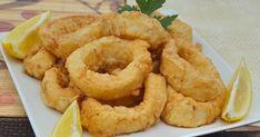 Calamares a la Romana tiernos y esponjosos