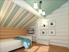 Обалденный белый деревянный дом:)