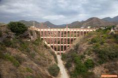 Acueducto DEL AGUILA. NERJA / Acueducto de Nerja / Puente del Águila Eagle Bridge / Акведук Агила в Нерхе  Copyright:Nesterov Oleg