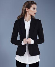 Minimal + Classic: Classic Blazer