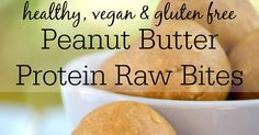 These Double Peanut Butter Protein Raw Bites are jam packed with peanut flavour and have 8g of protein with no protein powder in sight! Healthy, natural and delicious as well as low carb, gluten free, refined sugar free, vegan and freezer friendly - the perfect make ahead snack!