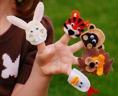 10. Finger Animals - 10 Super Adorable DIY Puppets ... → DIY