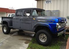 cummins swap in 1971 highboy help - Ford Truck Enthusiasts Forums 4 Door Trucks, Ford 4x4, Ford Pickup Trucks, 4x4 Trucks, Custom Trucks, Cool Trucks, Chevy Trucks, Lifted Trucks, Lifted Ford