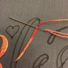 #chainstitch #embroiderystitches #reversechainstitch #handembroidery #crossstitcher #modernembroidery #dmcthreads #embroideryhoopart #modernembroiderymovement #makersofinstagr
