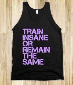 Train Insane Workout Tank @Amy Dillman @Alexandria Potter