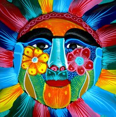 this reminds me of sun wall art I bought in Mexico  untitled by raysto