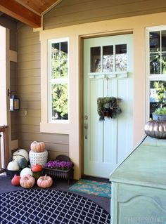Fallifying the Front Porch, Part Two