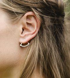 Sunset Jacket Earrings by Elaine B Jewelry