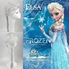 Tengs New Disney Princess Frozen Snow Queen Elsa Silver Weave Ponytail Cosplay Wigs Sold by TheTengs shop.Adjustable Wig Cap that Will Fit Most Sizes ( Adults or Children). Adjust The Hooks Inside The Cap To The Correct Size. No Pins Or Tape Needed100 (Barcode EAN = 0520238245054) http://www.comparestoreprices.co.uk/film-and-tv-figures/tengs-new-disney-princess-frozen-snow-queen-elsa-silver-weave-ponytail-cosplay-wigs.asp