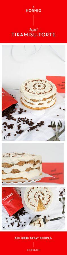 Marlene von Fräulein Cupcake hat eine leckere Tiramisu-Torte gezaubert. Das Rezept findest du auf unserem Blog.   #kaffee #coffee #cake #tiramisu #tiramisutorte #torte #kuchen #backen #backing Granita, Cupcakes, Great Recipes, Desserts, Food, Sheet Cakes, Cake Baking, Weihnachten, Tailgate Desserts