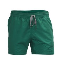 Swim Shorts for summer: Water Shorts with Embroidery Graphic – Green Summer Shorts, Swim Shorts, Look 2015, Trunks, Swimming, Seasons, Embroidery, Water, Green