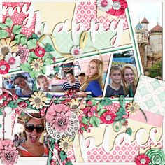Layout using {Think Happy Thoughts} Digital Scrapbook Collection by LDrag Design available exclusively at The Digichick http://www.thedigichick.com/shop/Think-Happy-Thoughts-The-Collection-by-LDrag-Designs.html #ldragdesigns