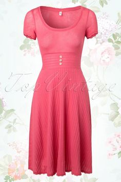 Blutsgeschwister  Fertig Los Pink A line Dress 106 22 13727 20150219 0007W
