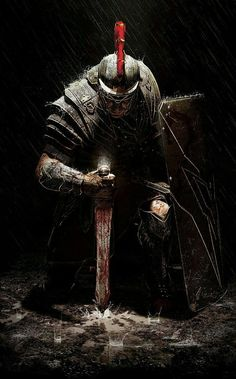 (Ryse Son of Rome) Cavaleiros e Templários Medieval Fantasy, Dark Fantasy, Fantasy Art, Vikings, Knight Tattoo, Armor Tattoo, Norse Tattoo, Viking Tattoos, Roman Warriors