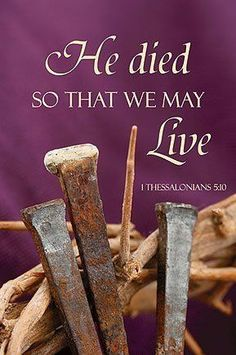 Lent Church Decorations | He Died so That We May Live Lenten Church Banner by Faithful Gifts. $ ...