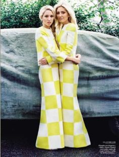 lovelymariechantal:  Princess Maria-Olympia and mom Princess Pavlos of Greece in Louis Vuitton, 2013, Spring Collection dresses #bags #fashion