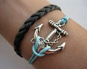 I love this bracelet! Why am I so drawn to nautical stuff?