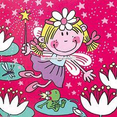 Funky Fairy - Flotte Funky Fairy-servietter til bursdagsfesten! Det er 20 stk servietter i en pakke, og de måler 33cm x 33cm (Lunsjserviett-størrelse på disse altså) Ikke bare holder disse bursdagsserviettene gjestene rene og pene, men de gjør seg også supert på bordet, og dekorerer koselig opp ved hver tallerken! #FunkyFairy Hello Kitty, Fairy, Snoopy, Fictional Characters, Painters, Fantasy Characters, Angel